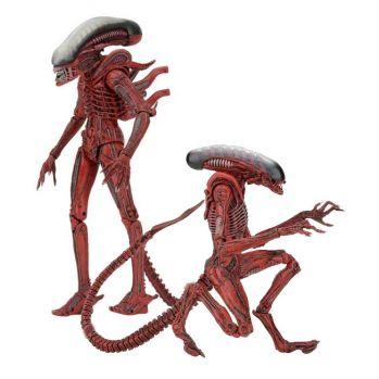 Aliens Genocide pack 2 figurines Big Chap & Dog Alien Neca