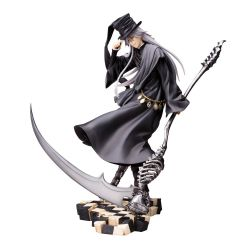 Black Butler Book of Circus statuette ARTFXJ 1/8 Undertaker Kotobukiya