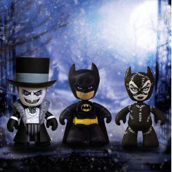 Batman Le Défi pack 3 figurines Mez-Itz Mezco Toys