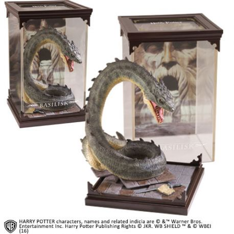 Harry Potter Diorama Magical Creatures Basilisk Noble Collection