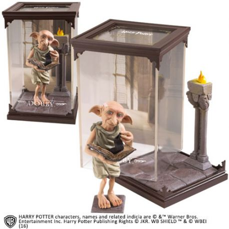 Harry Potter Diorama Magical Creatures Dobby Noble Collection