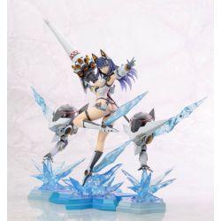 Sword & Wizards The Emperor of Sword & Seven Lady Knights statuette Fuyuka Yukishiro Damage Ver. Kotobukiya